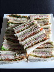 Finger Food Club Sandwich