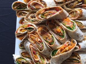 Finger Food Gourmet Tortilla Wraps
