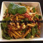 Penne Pasta With Feta
