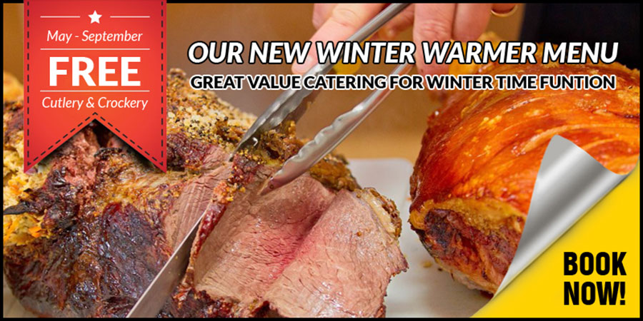 Winter Warmer Spit Roast Menu